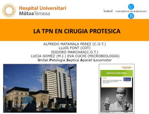 La TPN en Cirugía Protésica